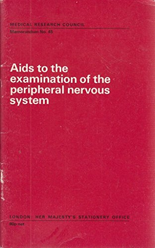 9780114500337: Aids to the Examination of the Peripheral Nervous System