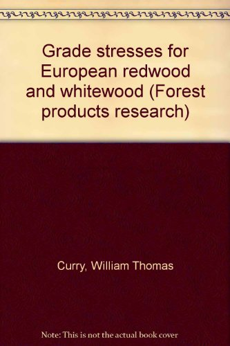 9780114701246: Grade stresses for European redwood and whitewood (Forest products research)