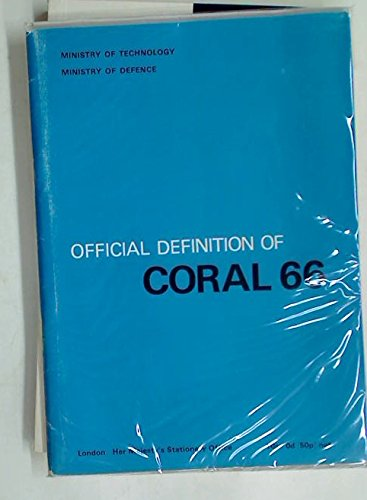 9780114702212: Official definition of CORAL 66