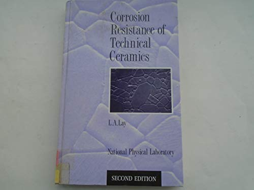 9780114800604: Corrosion Resistance of Technical Ceramics
