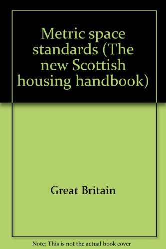 9780114901486: Metric space standards (The new Scottish housing handbook)