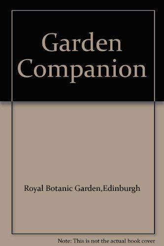 9780114904197: Garden Companion