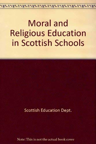 9780114907648: Moral and Religious Education in Scottish Schools