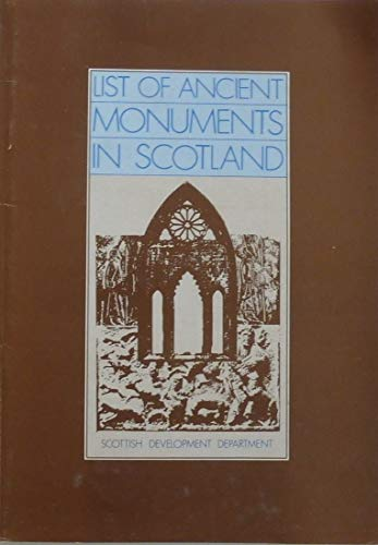 9780114915384: Ancient monuments in Scotland: A list corrected to 31 December 1976