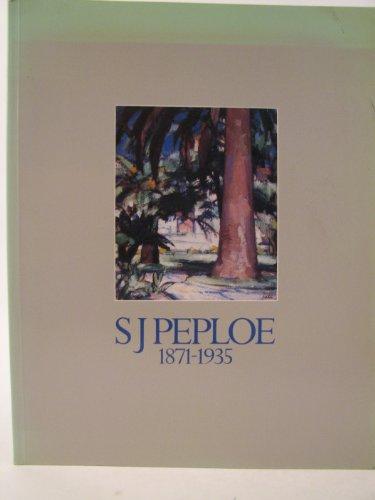 9780114924560: S.J.Peploe, 1871-1935