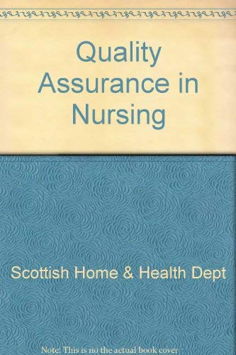 9780114934392: Quality Assurance in Nursing