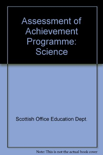 9780114935139: Science: Assessment of Achievement Programme