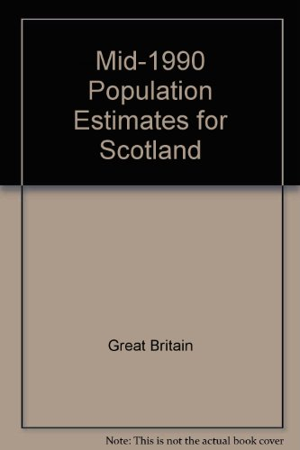 9780114941680: Mid-1990 Population Estimates for Scotland