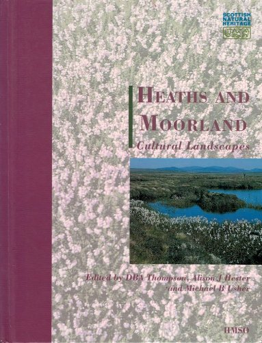 9780114951801: Heaths and Moorlands: Cultural Landscapes