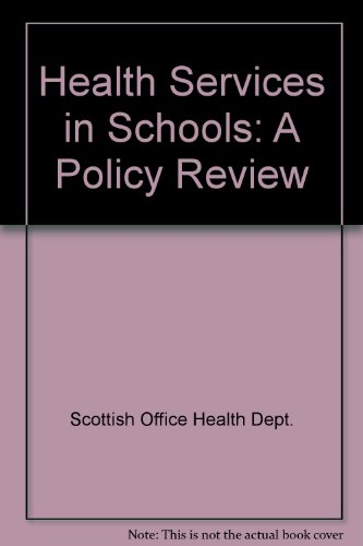 9780114958077: Health Services in Schools: A Policy Review