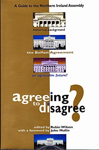 9780114972578: Agreeing to Disagree?: A Guide to the Northern Ireland Assembly