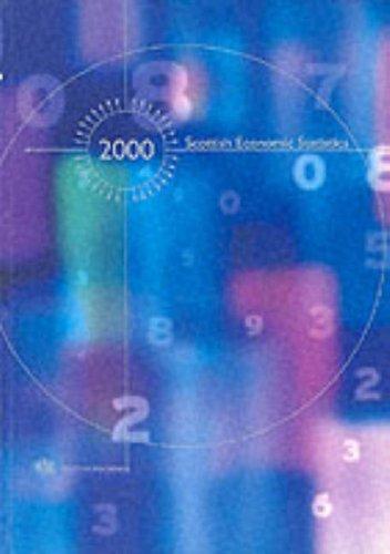 9780114972684: Scottish Economic Statistics 2000 (Scottish Executive Papers)