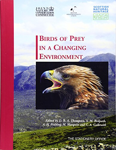 9780114973087: Birds of Prey in a Changing Environment: No.12 (The natural heritage of Scotland series)