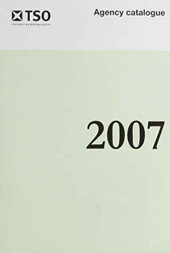 9780115008603: Stationery Office Agency Catalogue: 2007