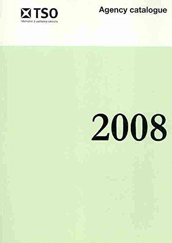 9780115010682: The Stationery Office agency catalogue 2008 (TSO Agency Catalogue (Classification 13-01-003))