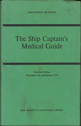 9780115102790: The Ship Captain's Medical Guide