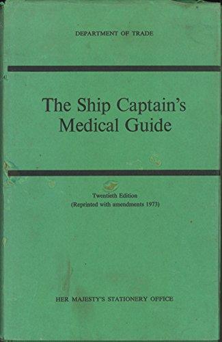 9780115102790: Ship Captain's Medical Guide