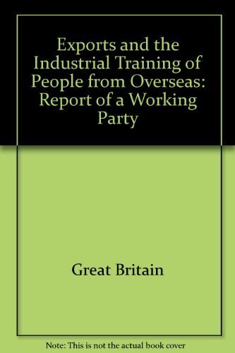 9780115103056: Exports and the industrial training of people from overseas;: Report of a working party
