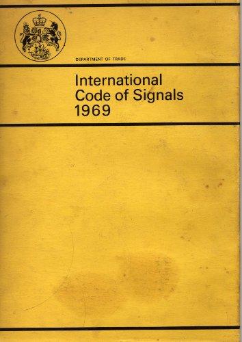9780115114151: International code of signals, 1969