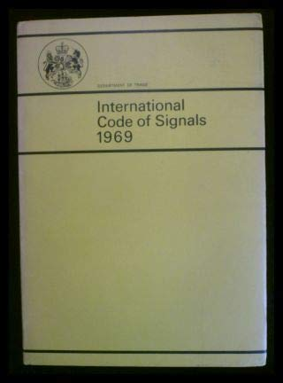 9780115114151: International code of signals, 1969