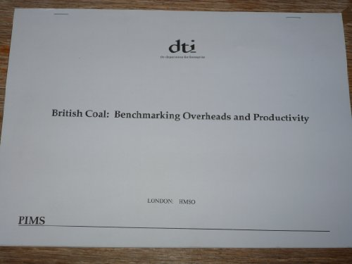 9780115149894: British Coal: Benchmarking Overheads and Productivity
