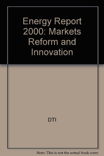 9780115154775: Energy Report 2000: Markets Reform and Innovation