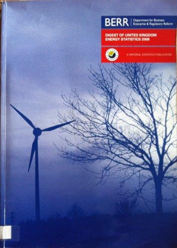 9780115155222: Digest of United Kingdom Energy Statistics: 2008 (Digest of UK Energy Statistics (Dti))
