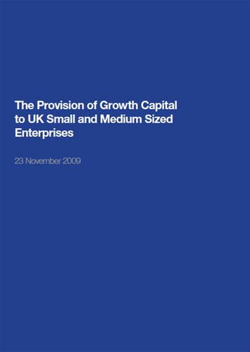 9780115155253: The Provision of Growth Capital to Uk Small and Medium Sized Enterprises