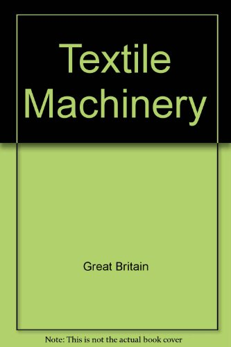 9780115370311: Textile Machinery