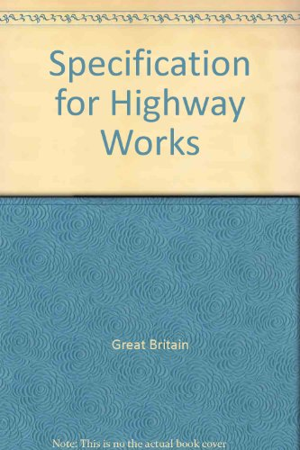 9780115507649: Specification for Highway Works