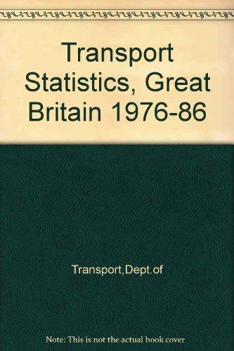9780115508172: Transport Statistics, Great Britain