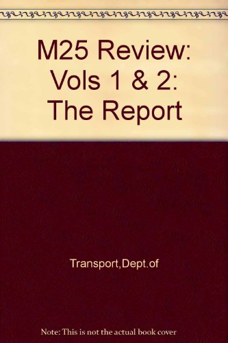 9780115509155: M25 Review: Vols 1 & 2: The Report