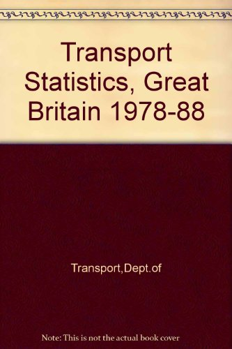 9780115509346: Transport Statistics, Great Britain
