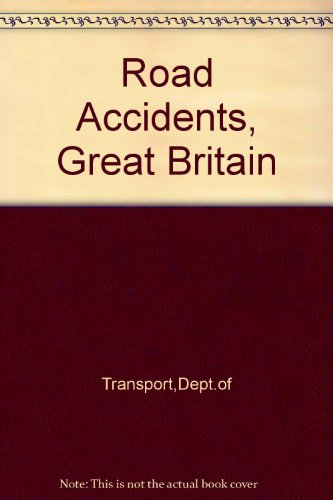 9780115510748: Road Accidents: Great Britain, 1992