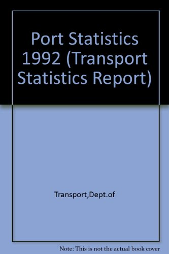 9780115511943: Port Statistics 1992 (Transport Statistics Report)