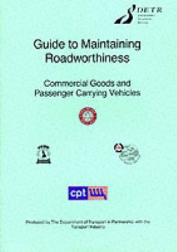 9780115517921: Guide to Maintaining Roadworthiness: Commercial Goods and Passenger Carrying Vehicles