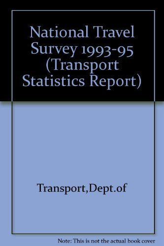 9780115518478: National Travel Survey 1993-95 (Transport Statistics Report)