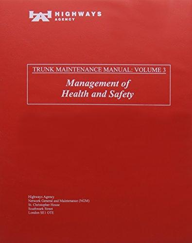 9780115520440: Trunk Road Maintenance Manual