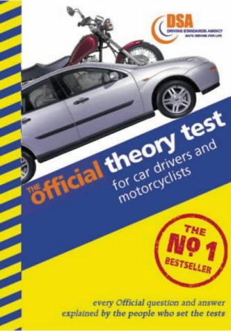 9780115521188: The Official Theory Test for Car Drivers and Motorcyclists: Valid for Tests Taken from 4 September 2000