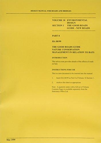 9780115521300: Design Manual for Roads and Bridges