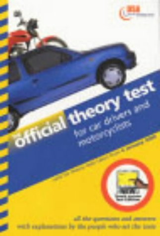 9780115522024: Official Theory Test for Car Drivers and Motorcyclists: Valid for Tests Taken from 4 January 2000 - Touch Screen Test Edition (Driving Skills)