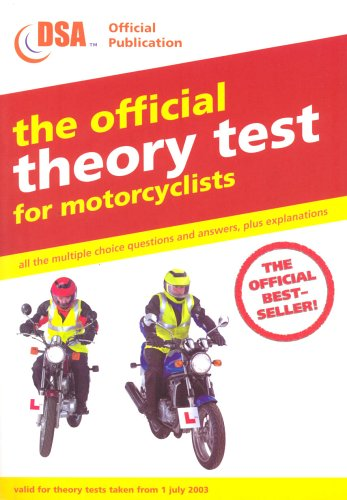 9780115523489: The Official Theory Test for Motorcyclists (Driving Skills)