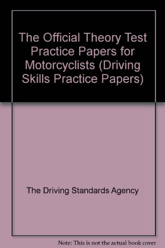 9780115523854: The Official Theory Test Practice Papers for Motorcyclists
