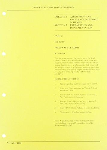 9780115524349: DMRB Road Safety Audit