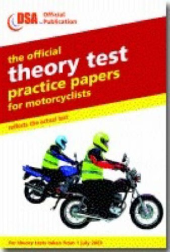 9780115524639: The official theory test practice papers for motorcyclists