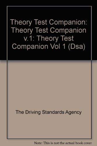 9780115524813: Theory Test Companion: Theory Test Companion v.1: Theory Test Companion Vol 1 (Dsa)