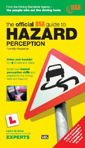 9780115525780: Roadsense: The Official Guide to Hazard Perception for All Drivers and Riders(Video and Paperback set.)
