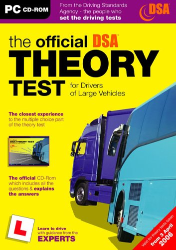 9780115527364: The Official DSA Theory Test for Drivers of Large Vehicles (PC)