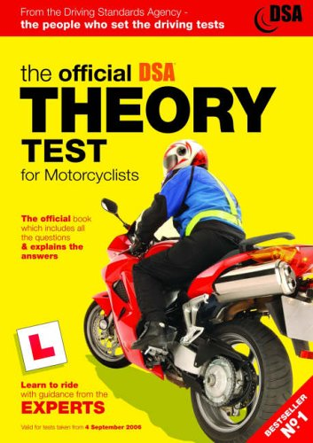 9780115527500: The Official DSA Theory Test for Motorcyclists: Valid for Tests Taken from 4th September 2006 (Driving Skills)