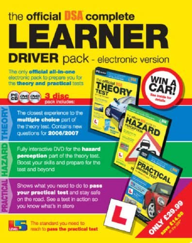 9780115527531: The Official DSA Complete Learner Driver Pack (PC CD)